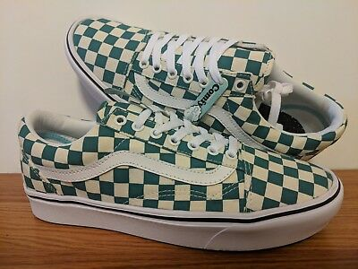 Vans New ComfyCush Old Skool Checker Vault Men Size USA 9 UK 8.5 EUR 42 192828081641 | eBay
