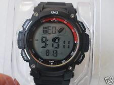 NEW Q&Q by Citizen Alarm Chronograph 10 Bar Men's Sports Watch (M119J004Y)