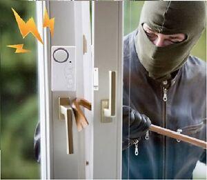 Arrêt Cambrioleur Magnétique Fenêtre Porte Sécurité Capteur Alarme 1 Unité, famille sécurité cadeau  </span>