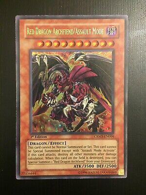 Red Dragon Archfiend//Assault Mode Yu-Gi-Oh! CRMS-JP004 Ultra Japan