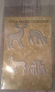Gina-Marie-designs-metal-cutting-dies-Deer-family-die-Buck-doe-babies