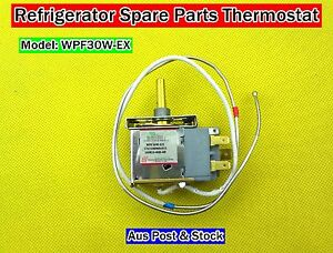 Refrigerator Spare Parts 4 Pin Thermostat WPF30W-EX Suits Many OEM Brand (D210)