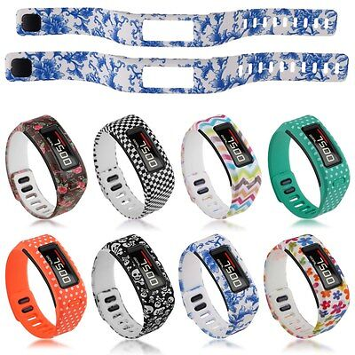Rubber TPU Replacement Wristband Strap Band For Garmin Vivofit Smart Bracelet