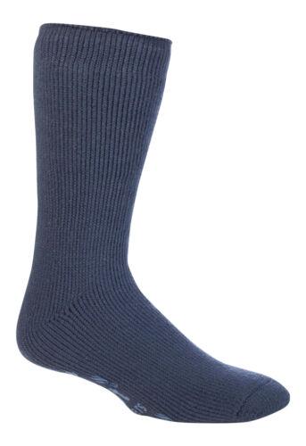 I titolari di calore-Linea Uomo BigFoot Thermal Antiscivolo Pantofole Con Calzini con Suola Gripper