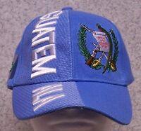 Embroidered Baseball Cap International Guatemala 1 Hat Size Fits All