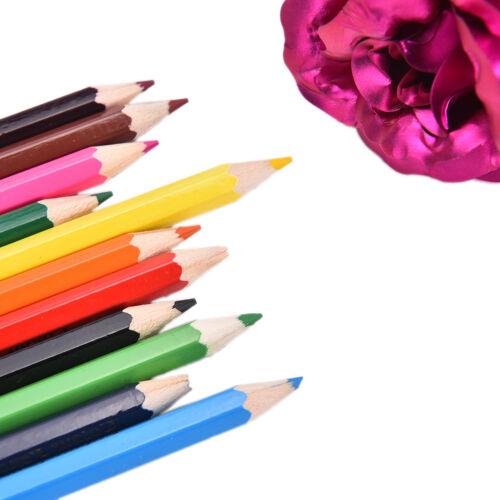 12x farben bleistifte stift zeichnen für kinder schüler entwerfen geschenkset ^