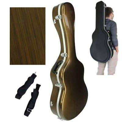 marca Cibeles Estuche ABS para Guitarra Cl/ásica con Forma Gris Azulado