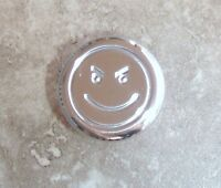 Gm Aftermarket Billet Steering Column Shift Knob grooved W/engraved Smiley