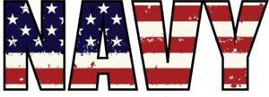 NAVY-American-Flag-Vinyl-Decal-Sticker-Navy-Bumper-Sticker-Military-Gift