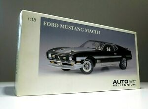 AutoArt-1-18-1971-Ford-Mustang-Mach-1-RARE-NEW-BOX-NOT-OPENED