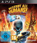 Destroy All Humans: Path Of The Furon (Sony PlayStation 3, 2014, DVD-Box)