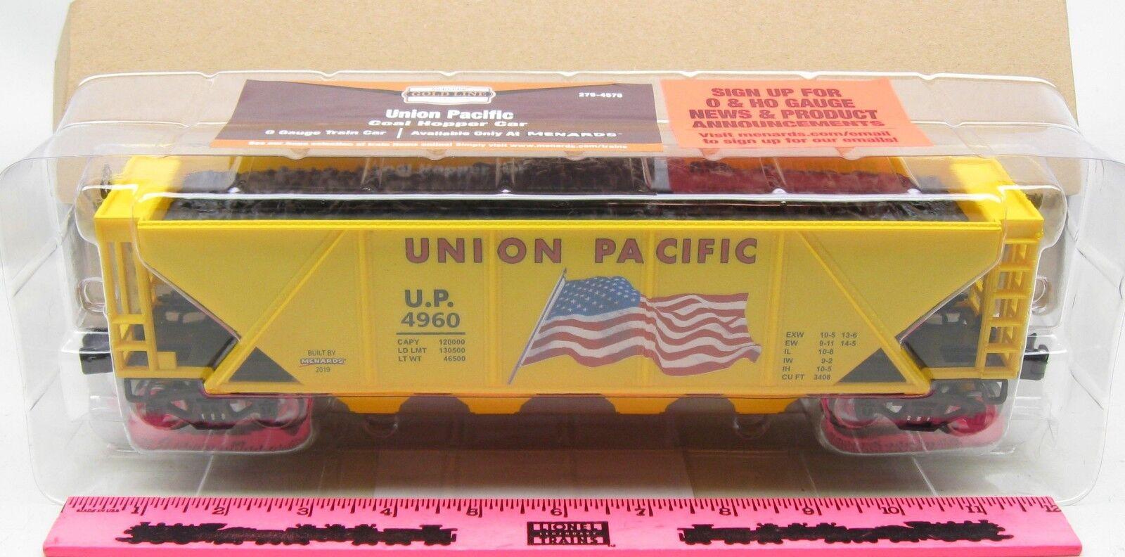The Menards  O Gauge Union Pacific Hopper Car