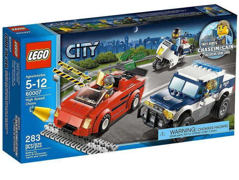 LEGO ® City 60007 Course Poursuite Nouveau neuf dans sa boîte _ High Speed CHASE NEW En parfait état, dans sa boîte scellée Boîte d'origine jamais ouverte