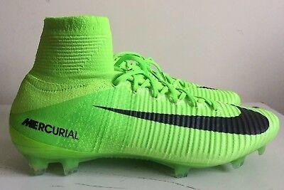 Nike MERCURIAL SUPERFLY V FG Taglia 12 UK 47.5 EUR VERDE 831940 305   eBay