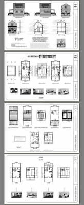 Model 4B 574 sq ft PDF Floor Plan 16x20 Tiny House