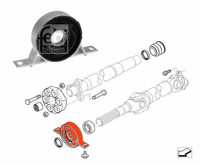 Febi 14919 Mounting propshaft fits BMW