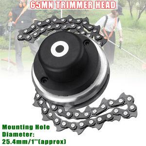 65Mn Trimmer Head Coil Chain Brushcutter Garden Grass Trimmer Tool  Lawn Mower