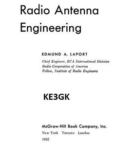 Details about Radio Antenna Engineering Electronic Book * CDROM * PDF