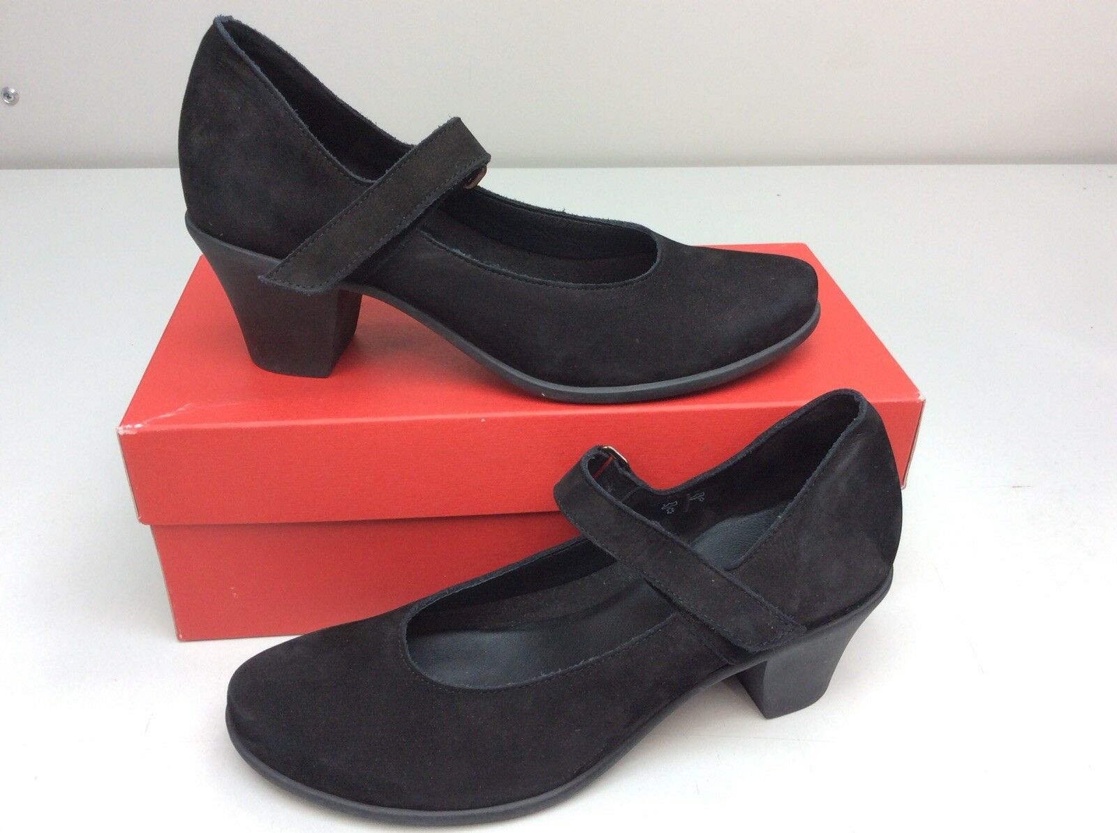 Arche Maora Mary Jane Pump black Black Size 40   US 9 Women's shoes
