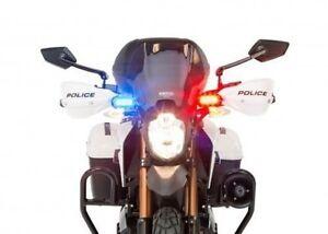 2x 3 Led RED BLUE STROBE Flash POLICE LIGHT Emergency Warning light- cars/ bikes