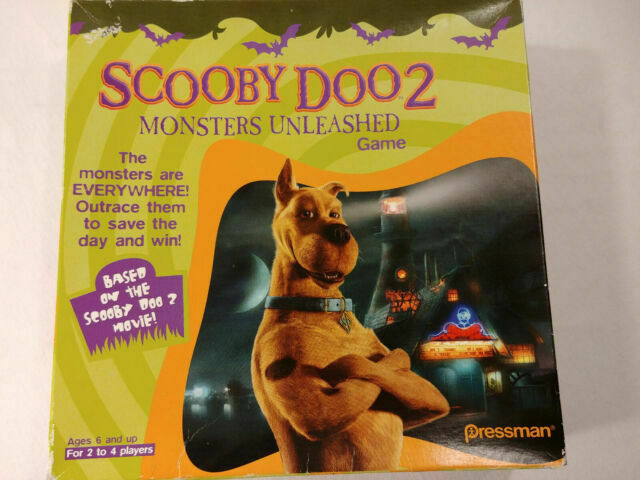 Scooby Doo 2 Monsters Unleashed Board Game By Pressman For Sale Online Ebay