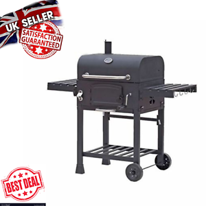 Grand-barbecue-jardin-fumeur-American-Family-Barbecue-charbon-Patio-Exterieur-Grill