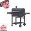Grand-barbecue-jardin-fumeur-American-Family-Barbecue-charbon-Patio-Exterieur-Grill miniature 1