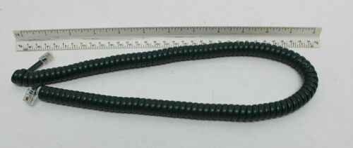 New Telephone Handset Cord 12/' Hunter Green Modular
