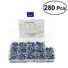 280pcs Variable Resistor Kit Safe Resistor Assorted Kit Adjustable Resistor Kit