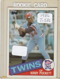 1985-KIRBY-PUCKETT-T586-ROOKIE-MINNESOTA-TWINS-BASEBALL-CARD-IF-YOU-BID-YOU-OWN