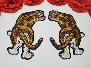 Sequin patch Fashion HOLLYWOOD patch Animal patch,Iron on Cat patch 2pc//set