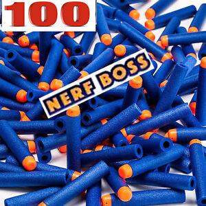 100-pcs Nerf Boss Nerf Elite N-Strike Gun Refill-pack-Foam-Darts-100 Bullets