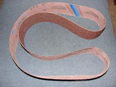 """2 1/2"""" X 60"""" Square Wheel Back Sander Belt (1) 25 Grit"""