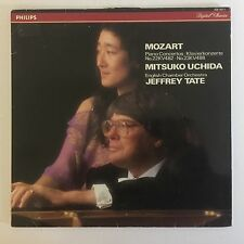 Mozart - Piano Concertos - Uchida - Tate - ECO - Philips - 420 187-1 - Vinyl LP