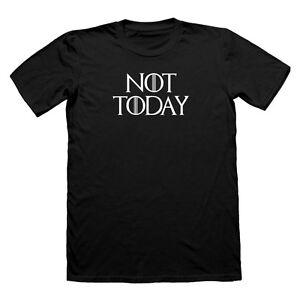 Pas-aujourd-039-hui-arya-stark-t-shirt-game-of-thrones-tee-lanister-tshirt-a-t-shirt