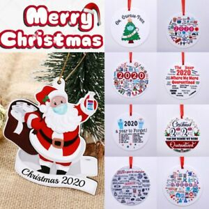 Christmas Tree Plaque 2020 Pandemic Annual Events Major Events Hanging Tags