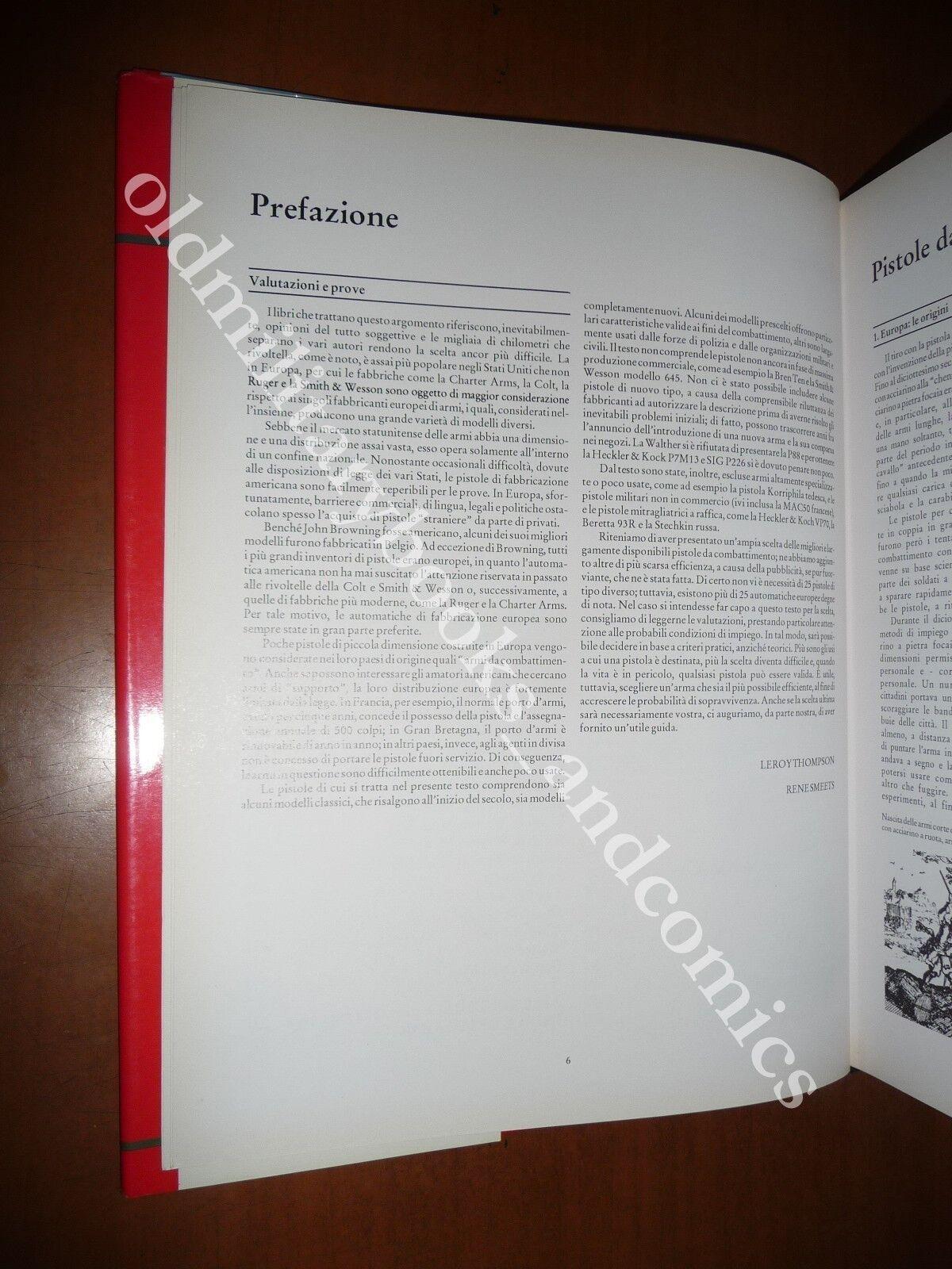 ARMI CORTE DA COMBATTIMENTO THOMPSON-SMEETS 1992 ARMI DA FUOCO PISTOLE REVOLVER