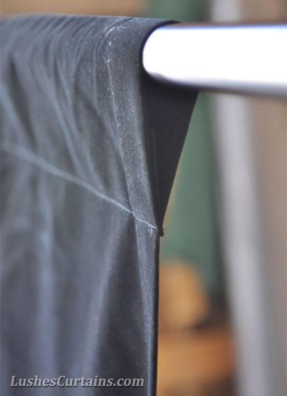 Personnalisé traitements de fenêtre rideaux solide velours rideau ...