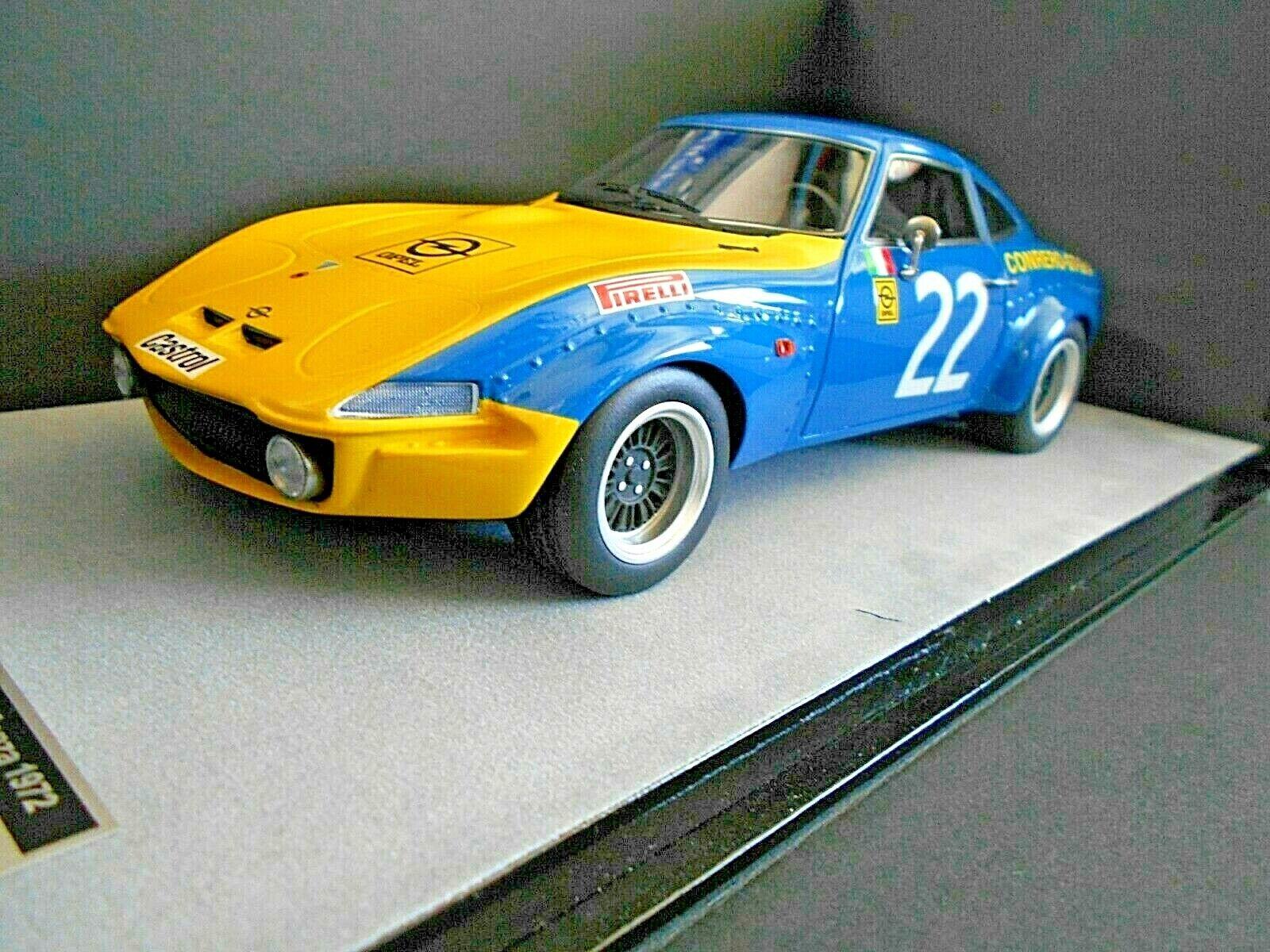 OPEL GT 1900 Racing Team Conrero EM GT Monza 1972  22 Rosselli TecnoModelll 1 18