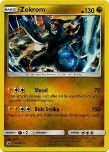 ZEKROM Dragon Majesty 46//70 - NM//Mint holo-foil Pokemon Card