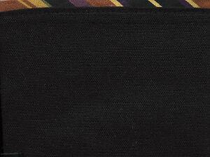 Longaberger-Large-Fall-Gourd-Basket-Black-Autumn-Stripe-Fabric-Liner
