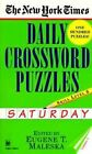 New York Times Daily Crossword Puzzles (Saturday), by Maleska (Paperback)
