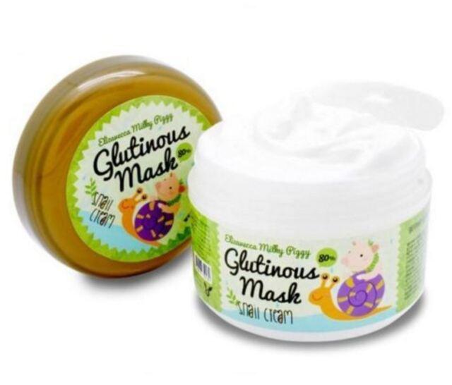 [Elizavecca] Milky Piggy Glutinous Mask Snail Cream 100ml Korean Cosmetic