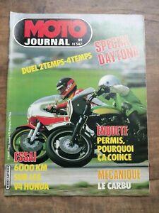 Moto Journal Nº 547 / 11 Mars 1982