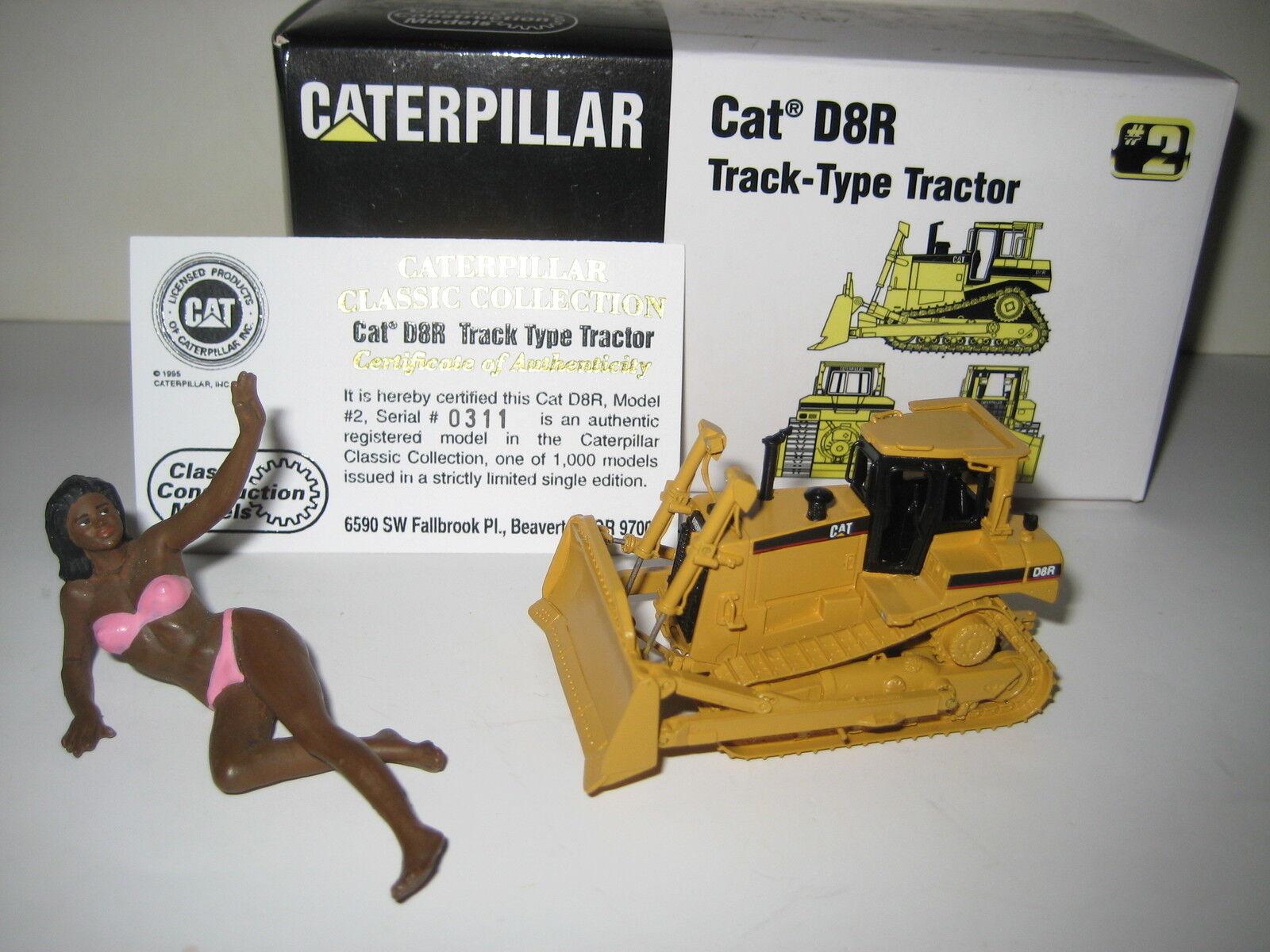 CATERPILLAR D  8 R Bouteur  311 ccm 1 87 Neuf dans sa boîte édition limitée  édition limitée chaude