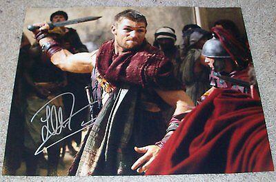 Autographs-original Liam Mcintyre Signed Autograph Spartacus 11x14 Photo E W/exact Video Proof Durable In Use Entertainment Memorabilia