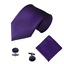 Men-039-s-Silky-Swirl-Jacquard-Woven-Striped-Tie-Pocket-Square-Cufflinks-Set-UK thumbnail 8