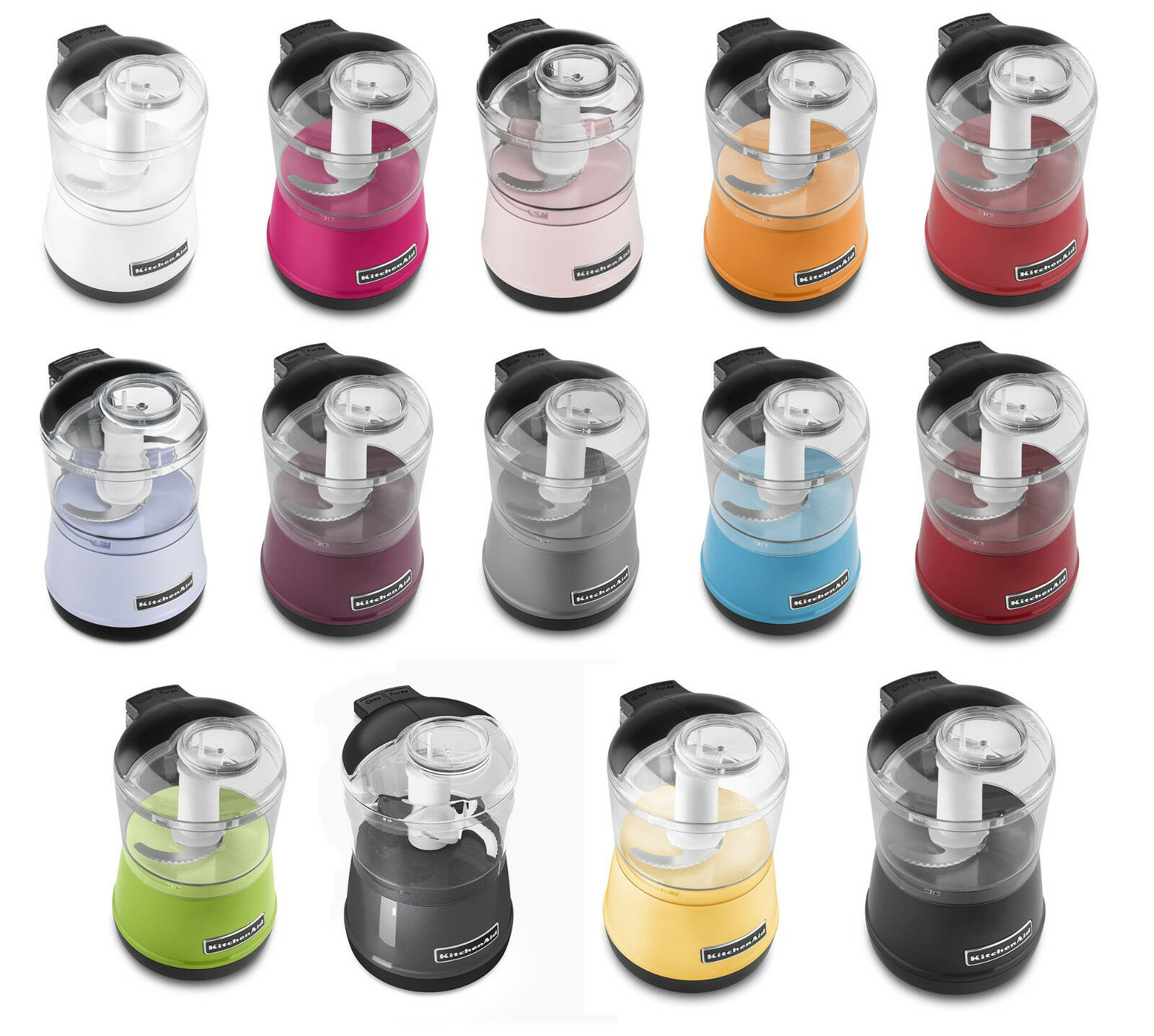 Kitchenaid Vegetable Chopper kitchenaid kfc3511 3.5-cup food choppers, 17 colors | ebay