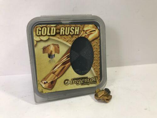 "INGERSOLL TPA1230R01 .485/"" Dia Gold Rush New Carbide Insert Drill Tip 1pc"