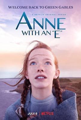 """Anne with an E Season 1 2 TV Poster Silk Print 13x20/"""" 24x36/"""" 27x40/"""""""